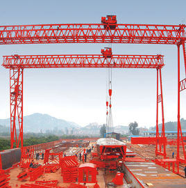 40t Fast lifting Truss Double Girder Gantry Crane for Precast yard European standard