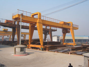 الصين MG120t - 32m - 22m Double Beam Gantry Crane For Steel Factory / Port / Shipbuilding موزع